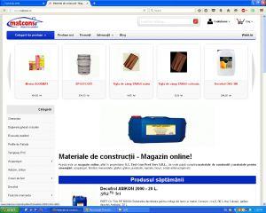 materiale de constructii - magazin online